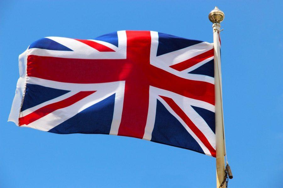 Flagge: Inbesitznahme durch das Vereinigte Königreich