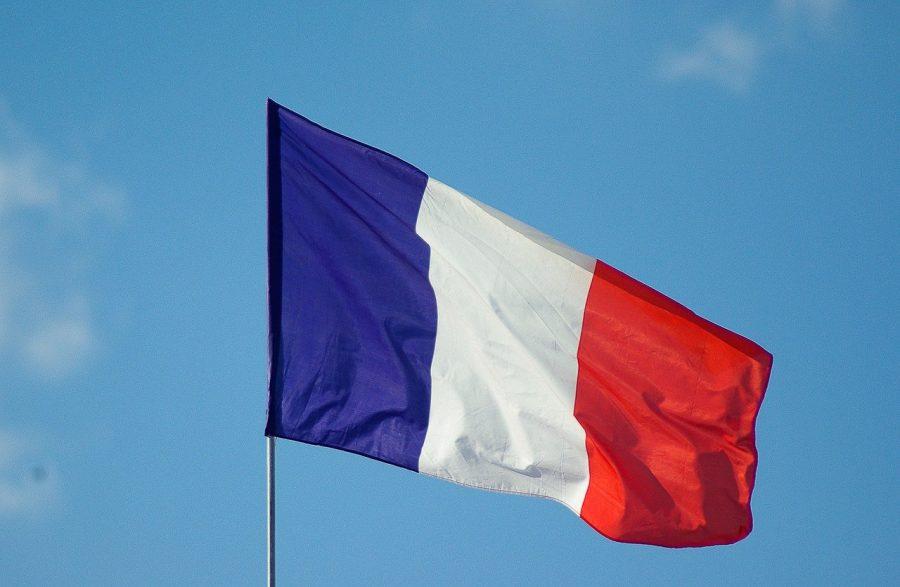 Flagge: Inbesitznahme durch Frankreich