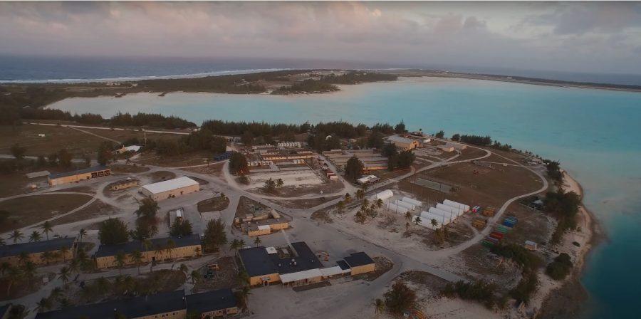 "Bild: Militärcamp ""Downtown"" bzw. ""Downtown Area"" auf dem Wake Atoll (# 2)"