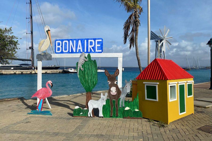 Bild: Schild auf Bonaire (neu)