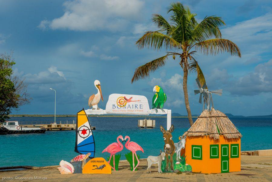 Bild: Schild auf Bonaire (alt)