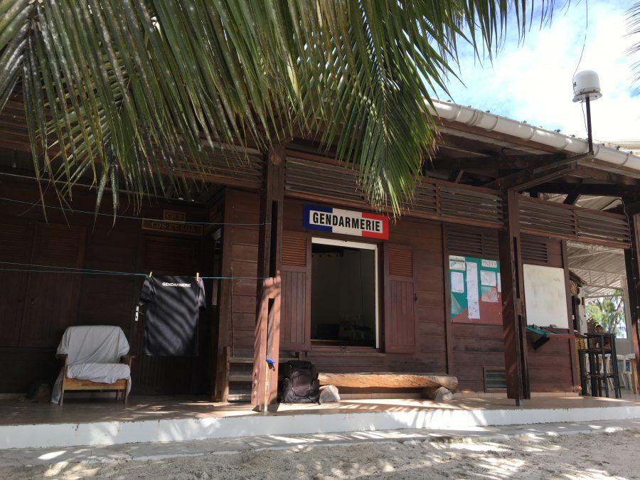 Bild: Gendarmerie auf der Glorieuse-Insel