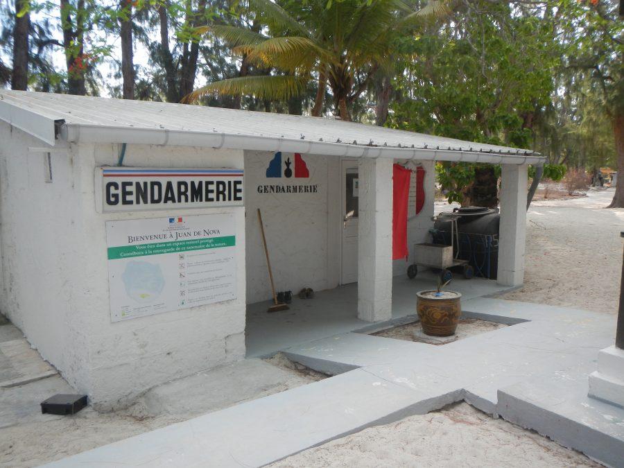 Bild: Gendarmerie auf der Juan de Nova-Insel