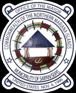 Siegel: Gemeinde Saipan