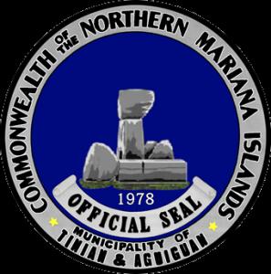 Siegel: Gemeinde Tinian and Aguiguan
