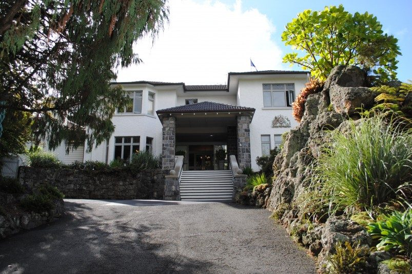 Bild: Regierungsgebäude in Auckland