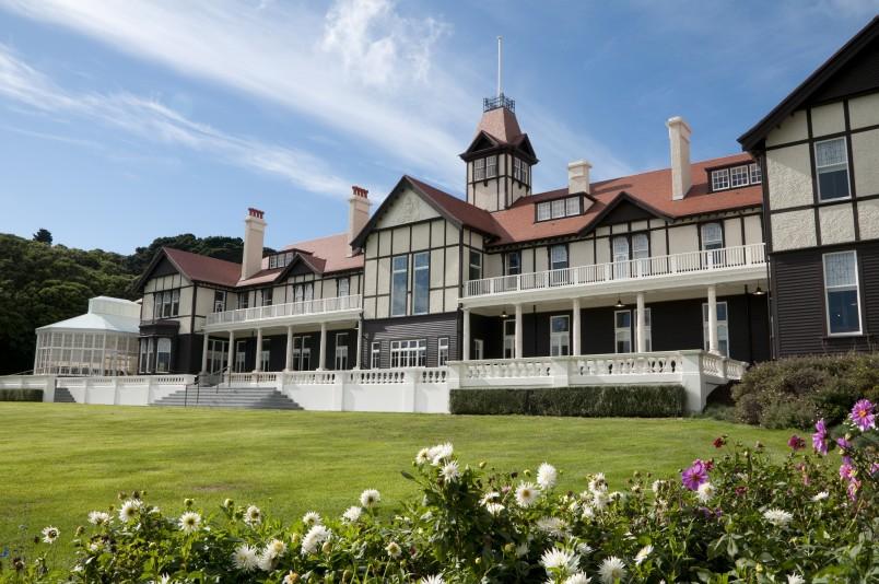 Bild: Regierungsgebäude in Wellington