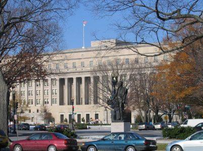 Bild: Hauptgebäude des US-Innenministeriums
