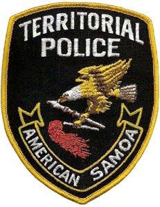 Wappen: Ministerium für Öffentliche Sicherheit von Amerikanisch-Samoa