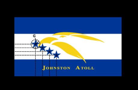 Flaggenspezifikation: Johnston Atoll