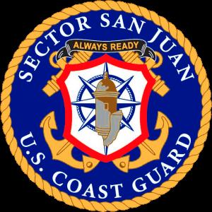 Siegel: Sektion San Juan des 7. Distrikst der US-Küstenwache