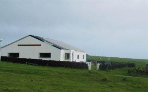 Bild: Postamt und Tourismuszentrale auf Tristan da Cunha