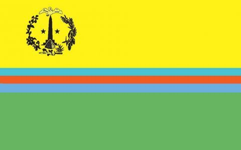 """Nationalflagge"", Kulturflagge, Volksflagge bzw. Einheitsflagge von St. Martin"