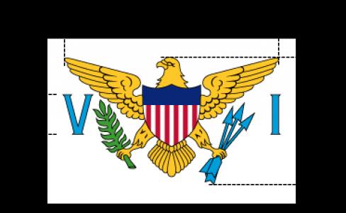Flaggenspezifikation: Amerikanische Jungfern-Inseln