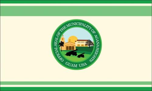 Flagge: Agaña Heights bzw. Agana Heights/Tutuhan (inoffiziell)