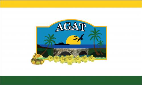 Flagge: Agat/Hågat bzw. Hagat