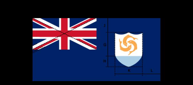 Flaggenspezifikation: Anguilla