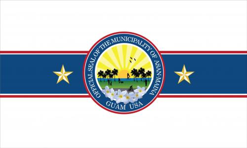 Flagge: Asan-Maina/Assan-Ma'ina bzw. Assan-Maina (inoffiziell)