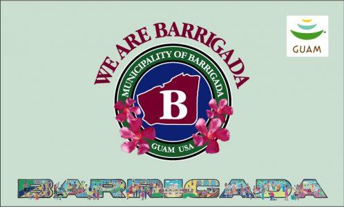 Flagge: Barrigada/Barigåda bzw. Barigada (inoffiziell)