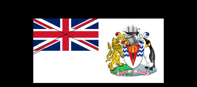 Flaggenspezifikation: Britisches Antarktis-Territorium