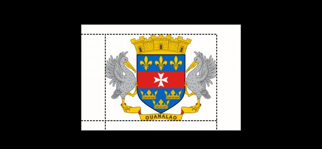 Flaggenspezifikation: Saint-Barthélemy