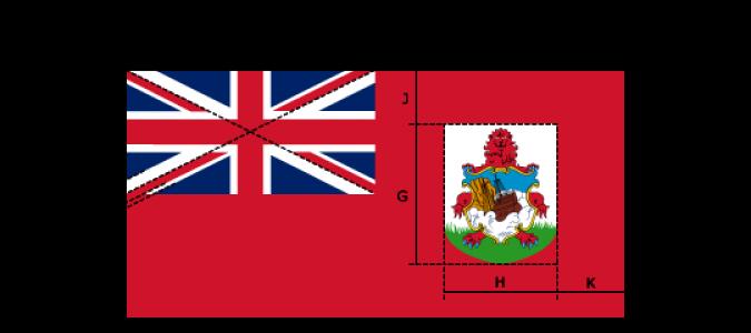 Flaggenspezifikation: Bermuda