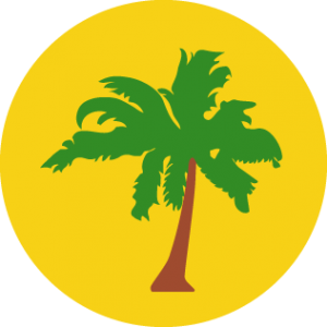 Detailansicht des Flaggenbadges: Kokos-(Keeling-)Inseln
