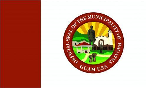 Flagge: Hagåtña bzw. Hagatna