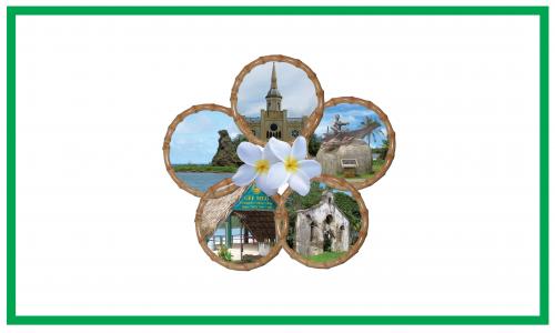 Flagge: Inarajan/Inalåhan bzw. Inalahan (inoffiziell)