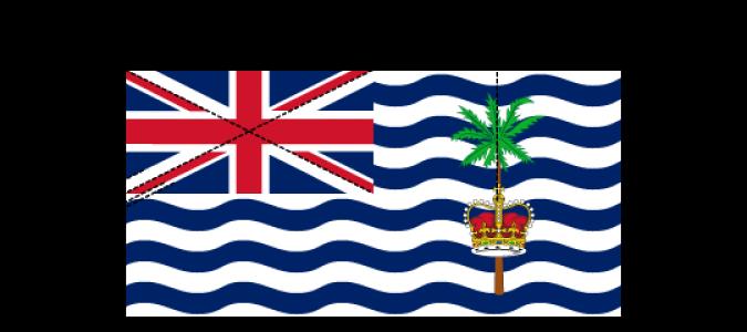 Flaggenspezifikation: Britisches Territorium im Indischen Ozean