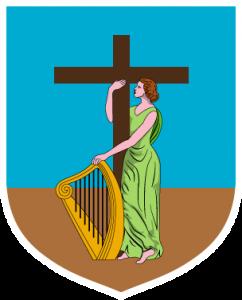 Detailansicht des Flaggenbadges: Montserrat