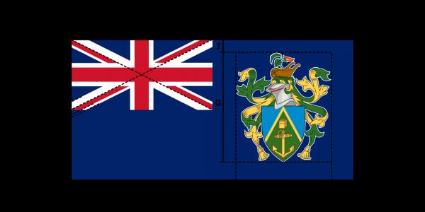 Flaggenspezifikation: Pitcairn-Inseln