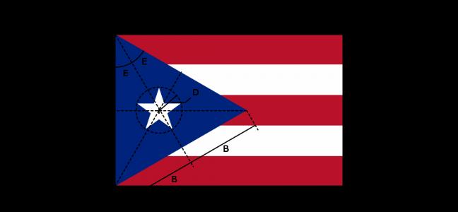 Flaggenspezifikation: Puerto Rico