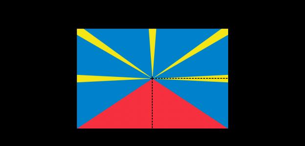 Flaggenspezifikation: Réunion