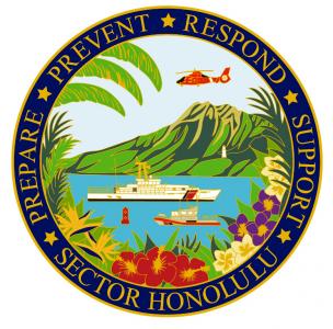 Siegel: Sektor Honolulu des 14. Distrikts der US-Küstenwache