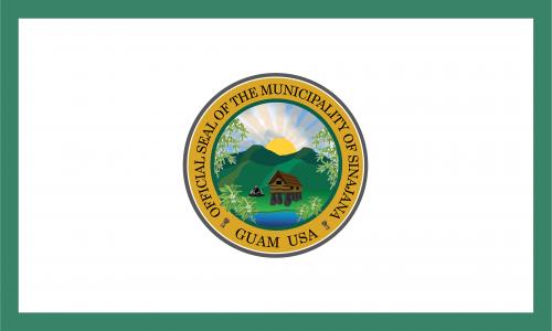 Flagge: Sinajana/Sinahåña bzw. Sinahana