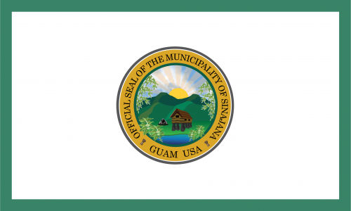 Flagge: Sinajana/Sinahåña bzw. Sinahana (inoffiziell)
