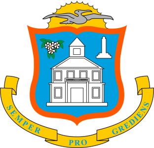 Wappen: Sint Maarten