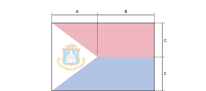 Flaggenspezifikation: Sint Maarten