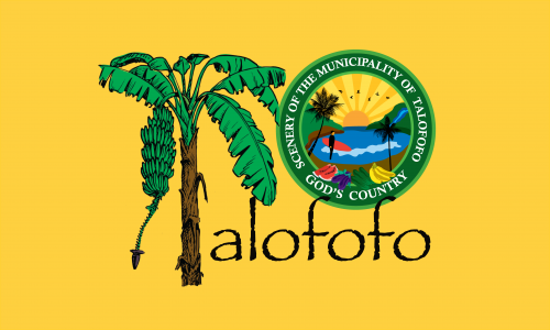 Flagge: Talofofo/Talo'fo'fo' bzw. Talofofo
