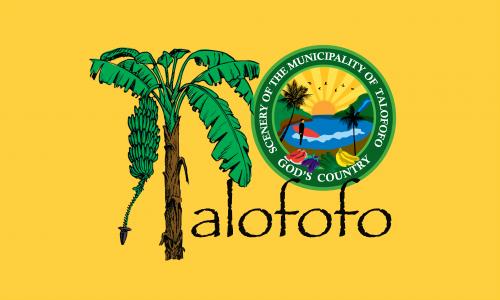 Flagge: Talofofo/Talo'fo'fo' bzw. Talofofo (inoffiziell)