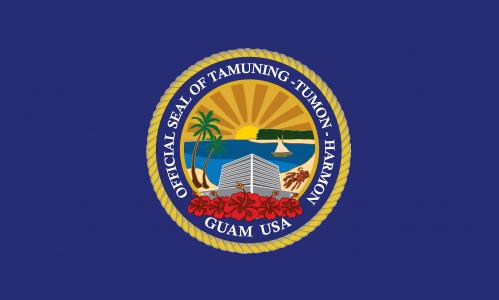 Flagge: Tamuning/Tamuneng