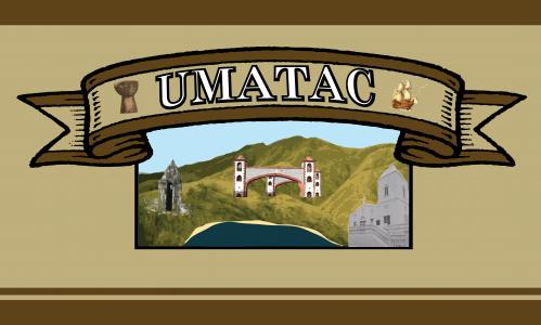 Flagge: Umatac/Humåtak bzw. Humatak (inoffiziell)