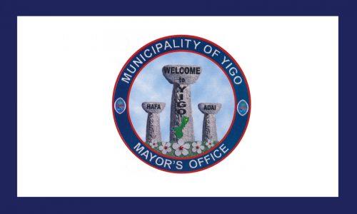 Flagge: Yigo/Yigu (inoffiziell)