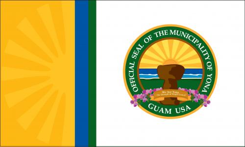 Flagge: Yona/Yoña bzw. Yona