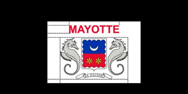 Flaggenspezifikation: Mayotte